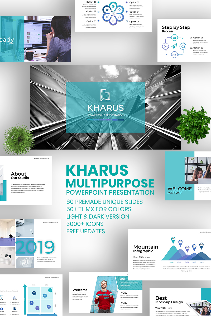 KHARUS - Multipurpose PowerPoint Template