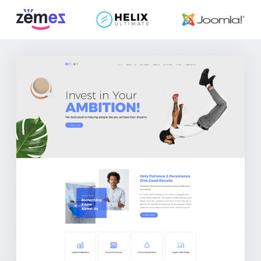 Template Educație Joomla #85003