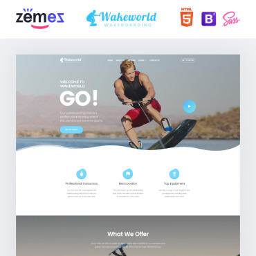 Website Template № 85053