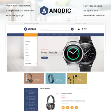 Website Template № 85055