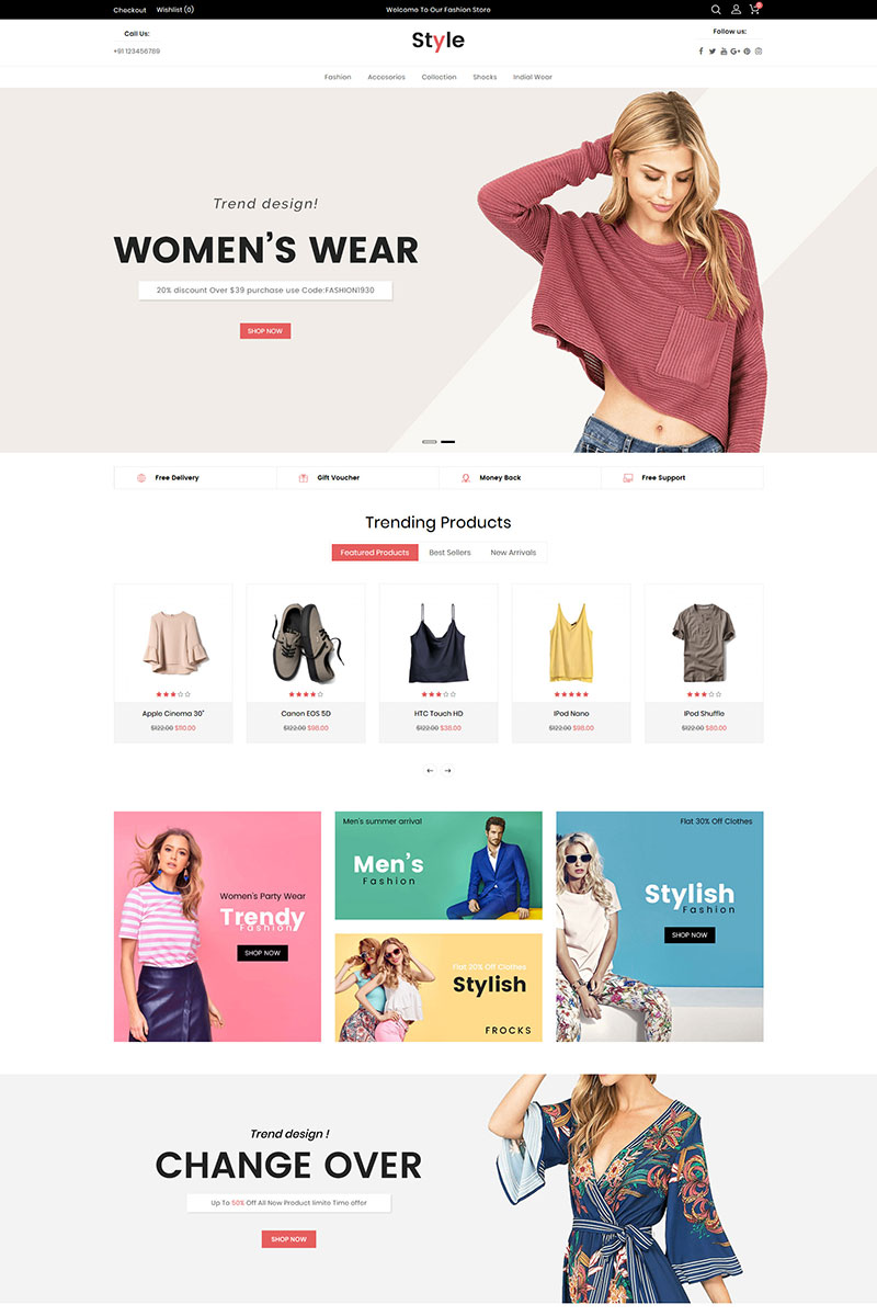 Style Fashion Opencart Template