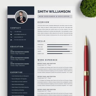 Template Resume Templates #85070