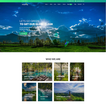 Website Template № 85078