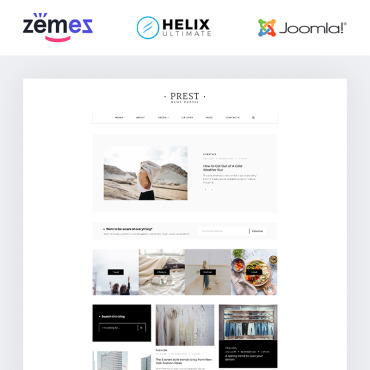 Website Template № 85093