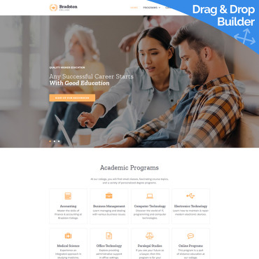 Website Template № 85095