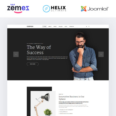 Website Template № 85106
