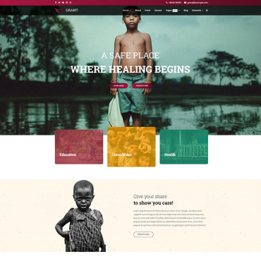 Website Template № 85127