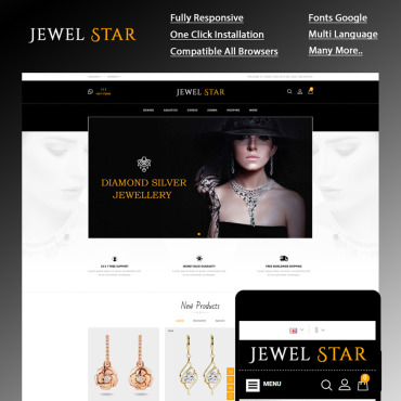 Website Template № 85155