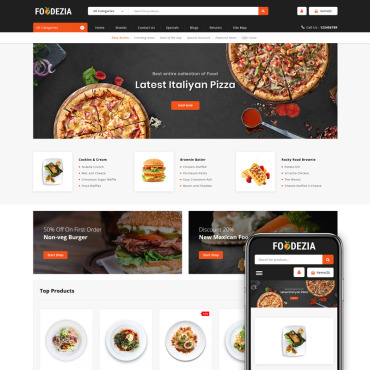 Website Template № 85167