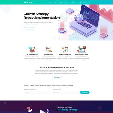 Website Template № 85200