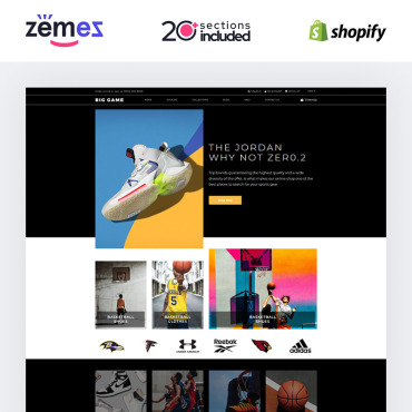 Website Template № 85227