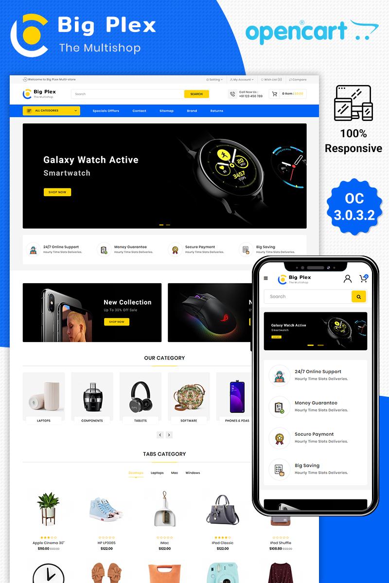 Big Plex Multipurpose Responsive OpenCart Template