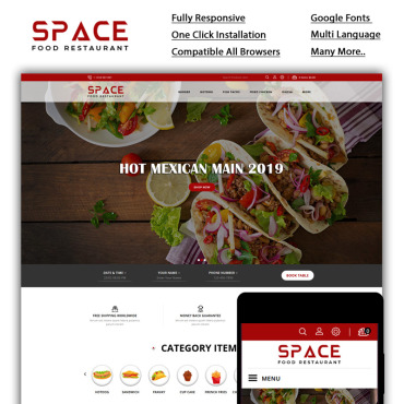 Website Template № 85236
