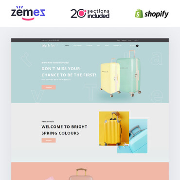 Website Template № 85246