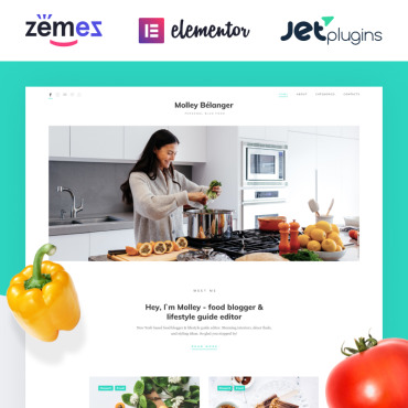 Website Template № 85260