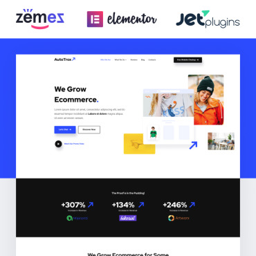 Website Template № 85267