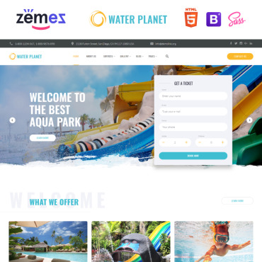 Website Template № 85330