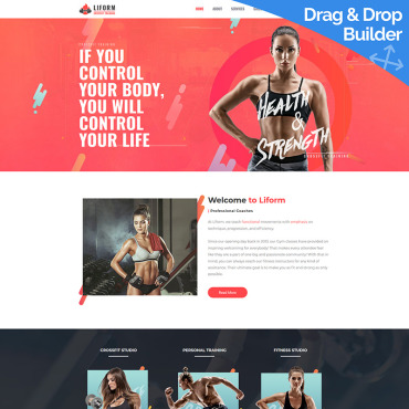 Website Template № 85363