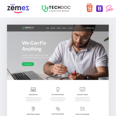 Template Calculatoare Landing Page #85384