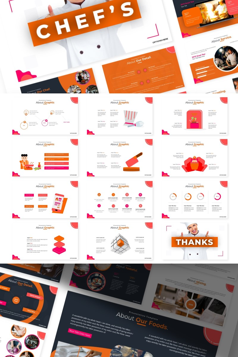 Chef's | PowerPoint Template