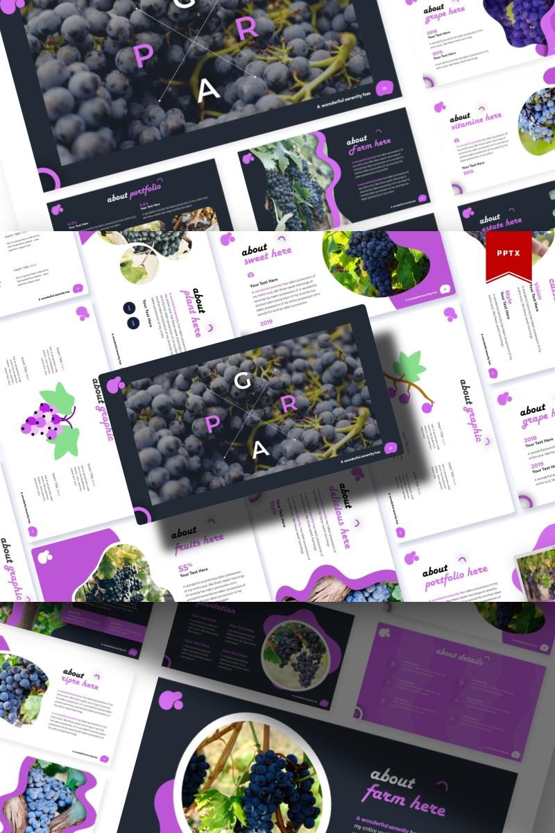 Grape | PowerPoint Template