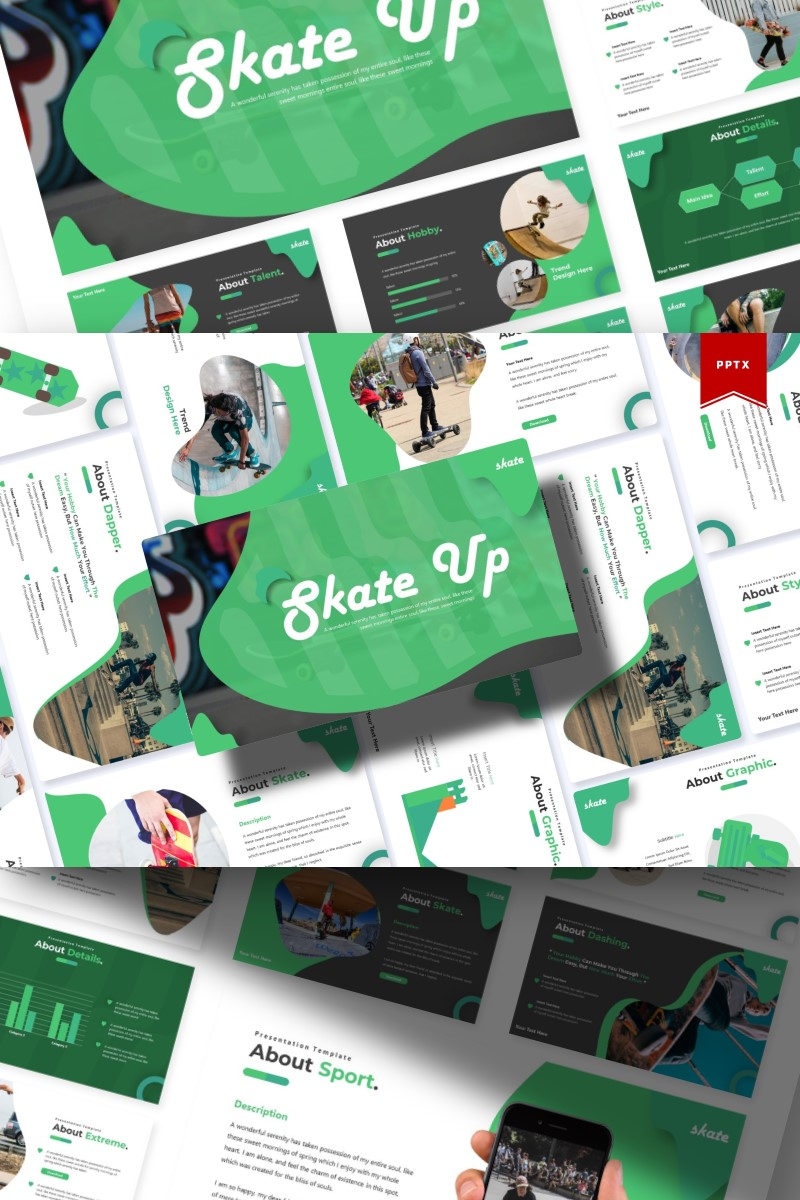 Skate Up | PowerPoint Template
