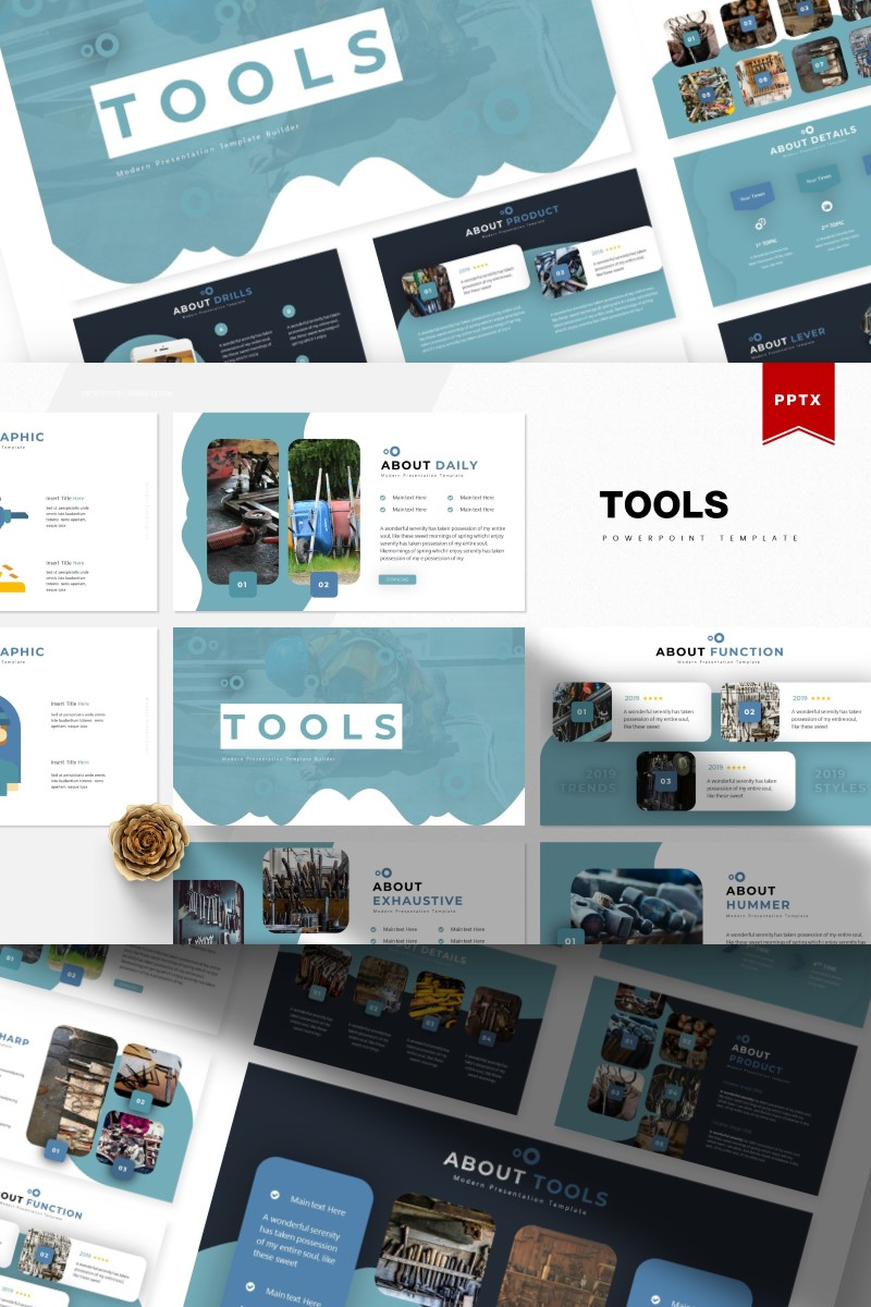 Tools | PowerPoint Template