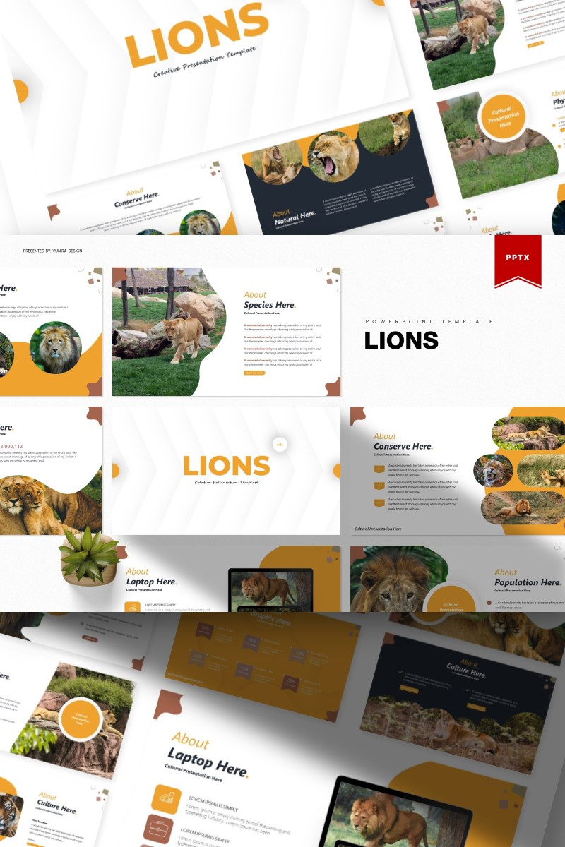 Lions | PowerPoint Template