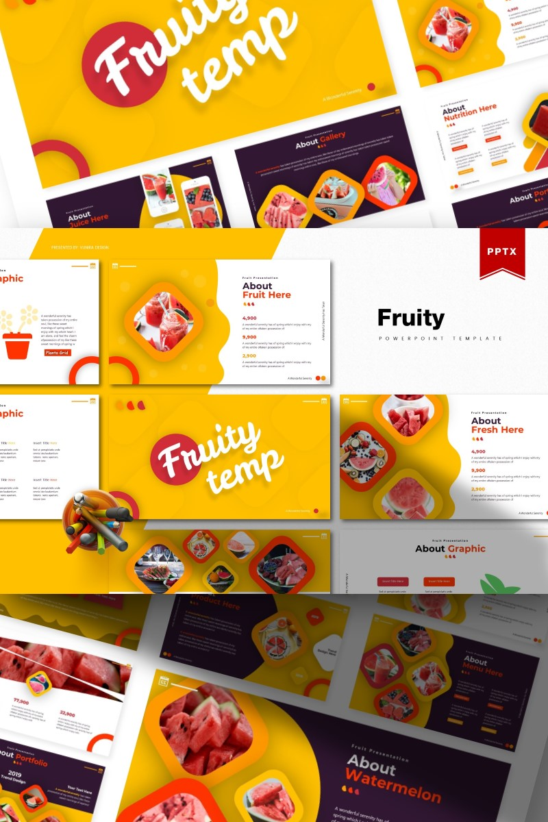 Fruity   PowerPoint Template