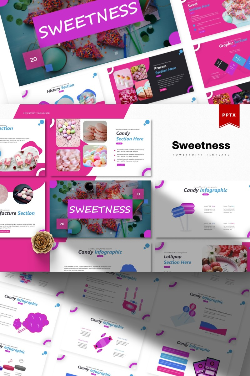 Sweetness | PowerPoint Template