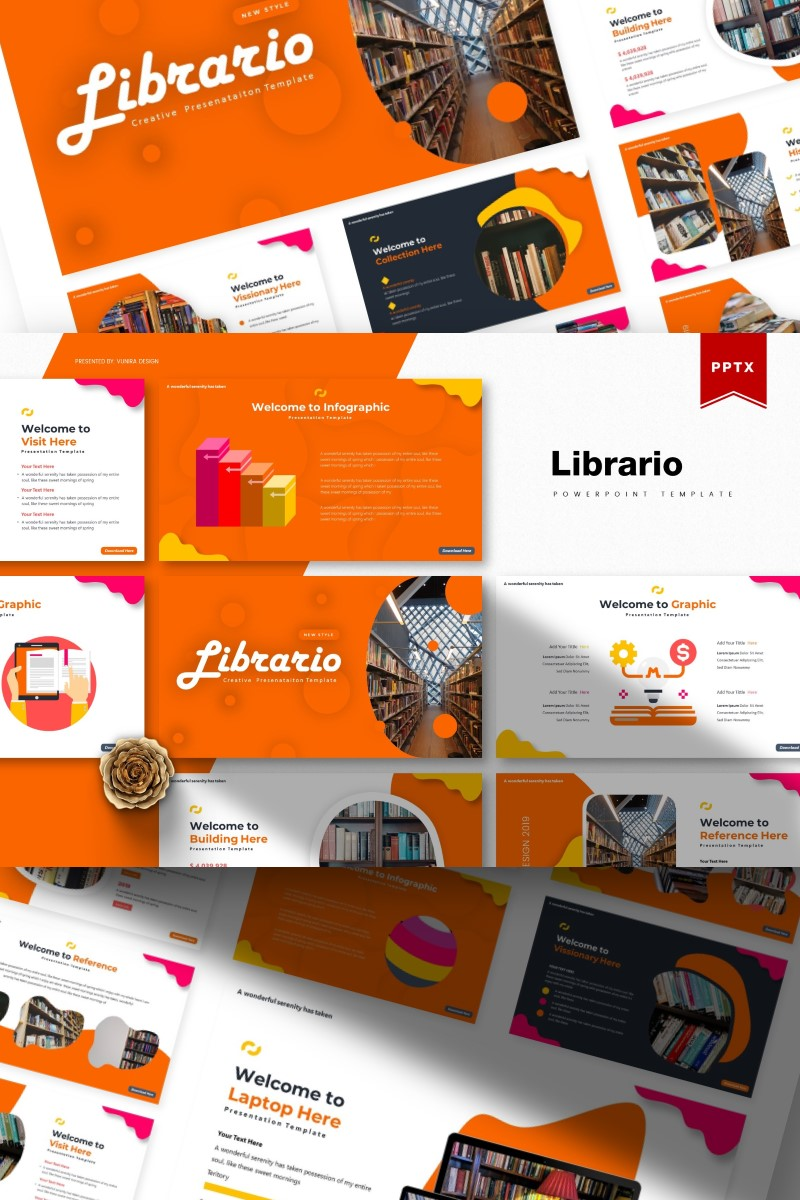 Librario | PowerPoint Template
