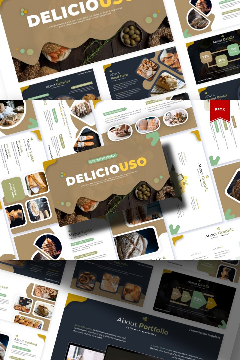 Deliciousi | PowerPoint Template