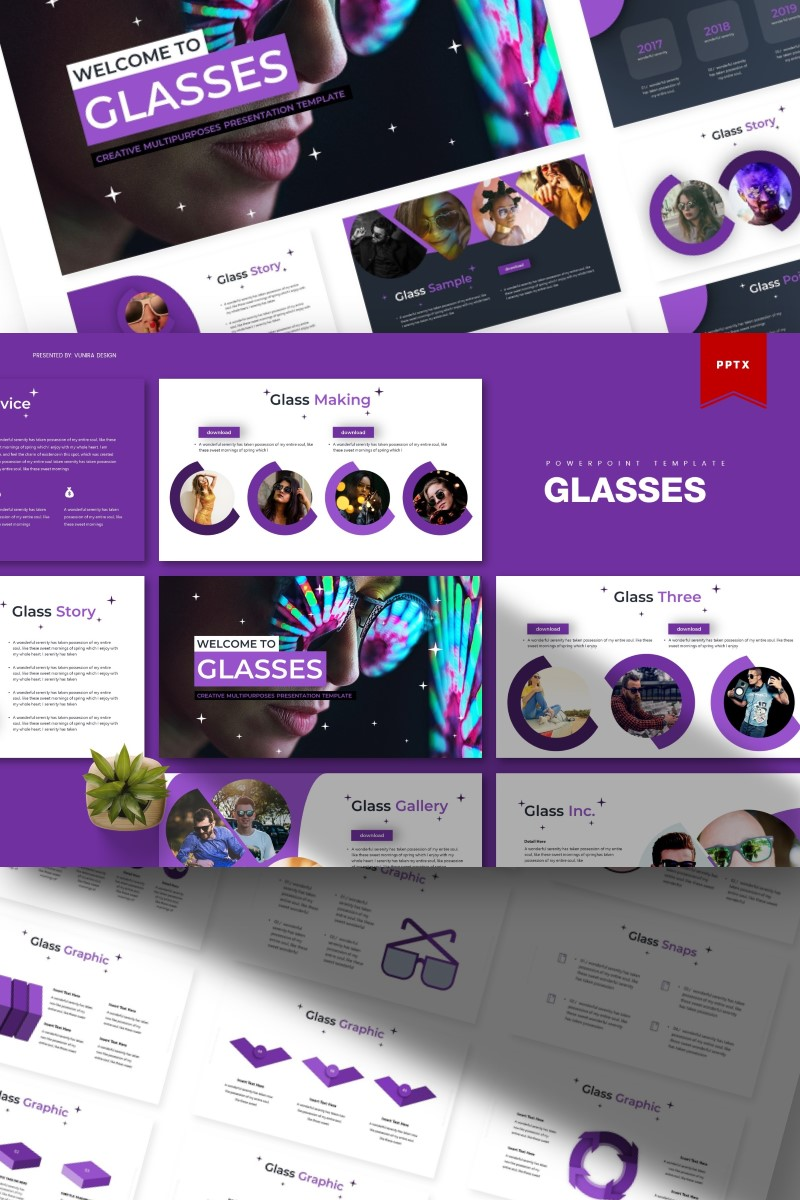 Glasses | PowerPoint Template