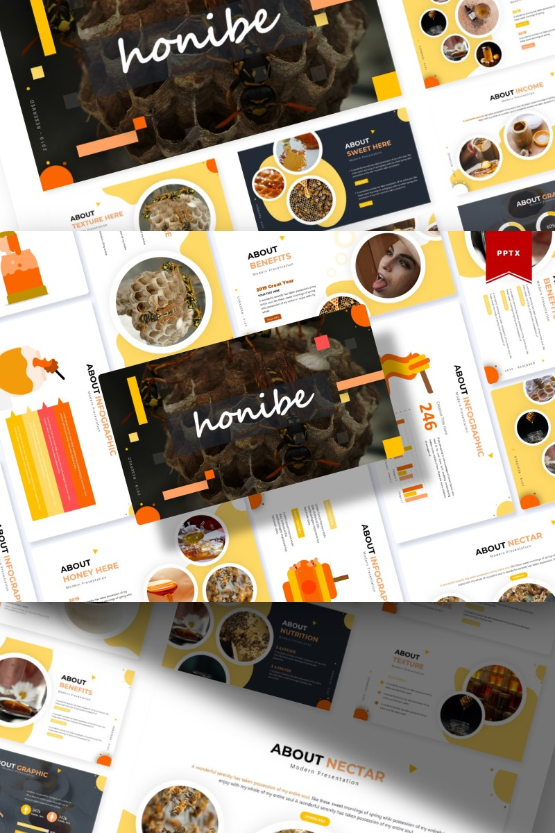 Honibe | PowerPoint Template