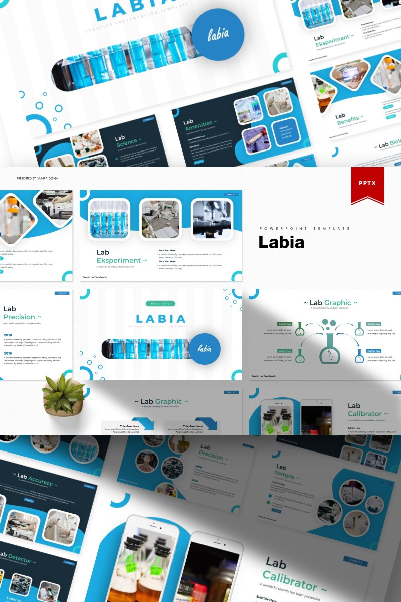 Labia   PowerPoint Template