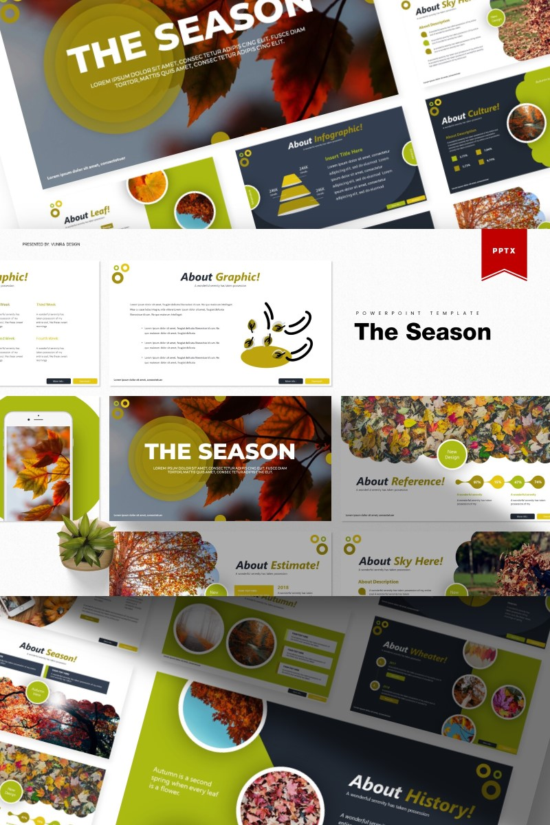 The Season | PowerPoint Template