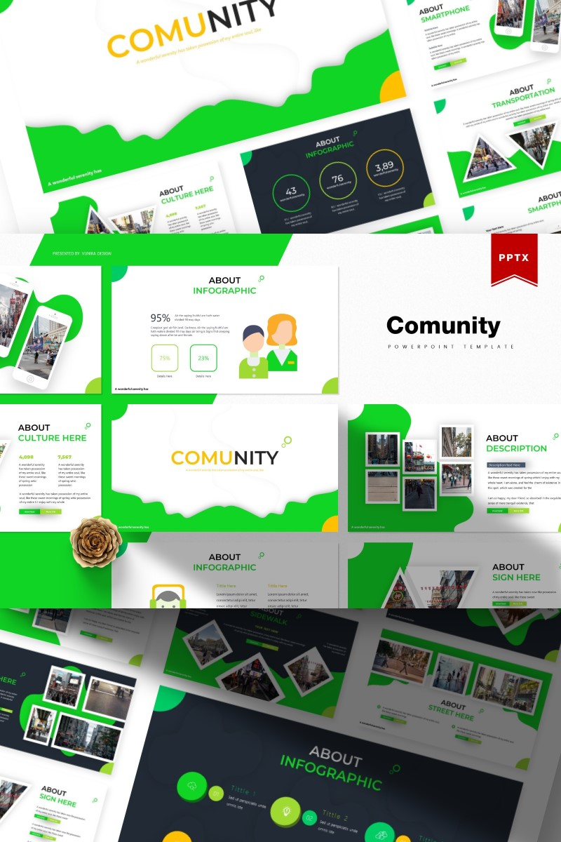 Comunity | PowerPoint Template