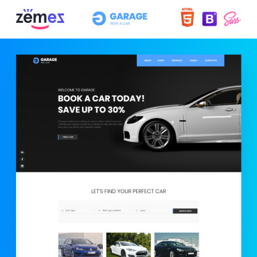 HTML/CSS Template #85967