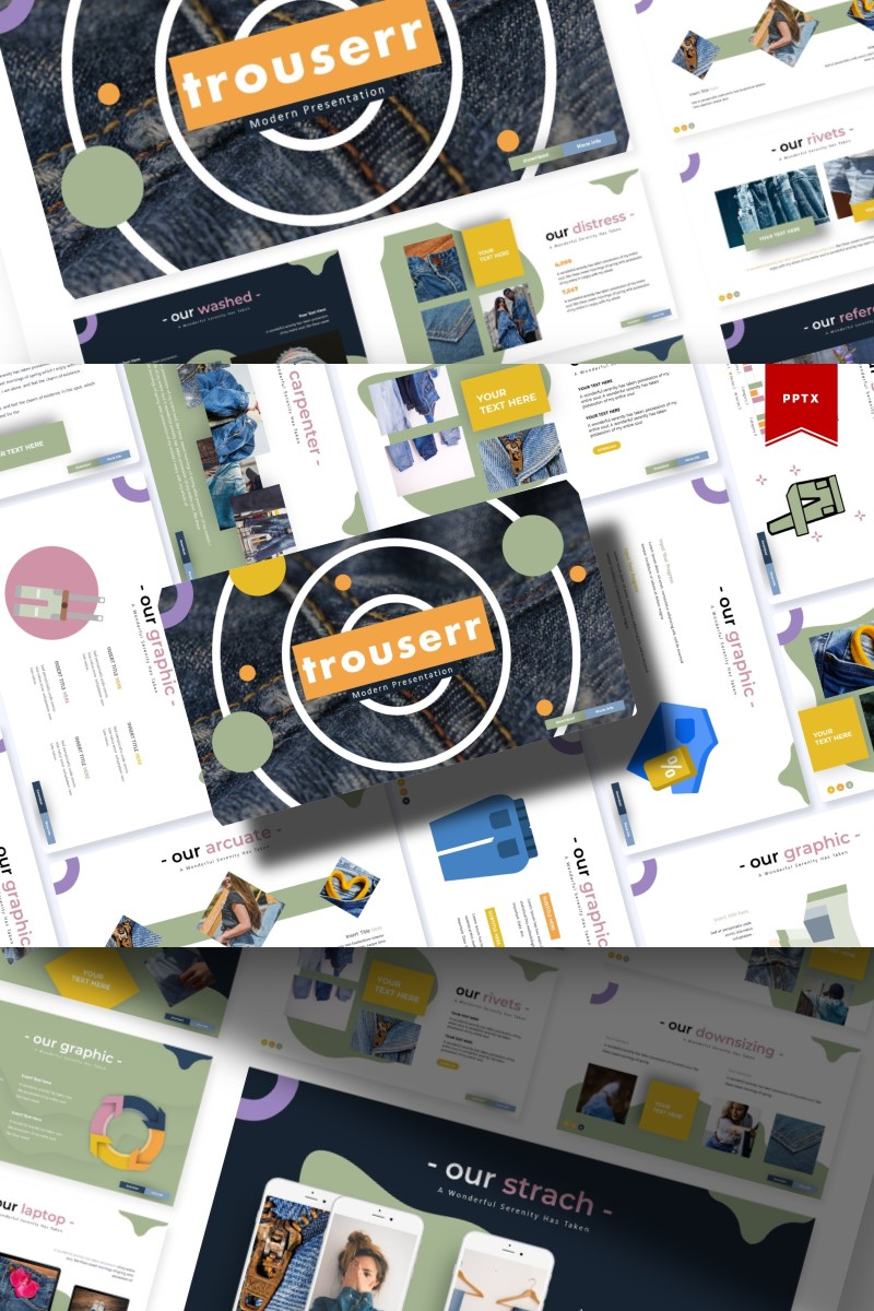 Trouserr | PowerPoint Template