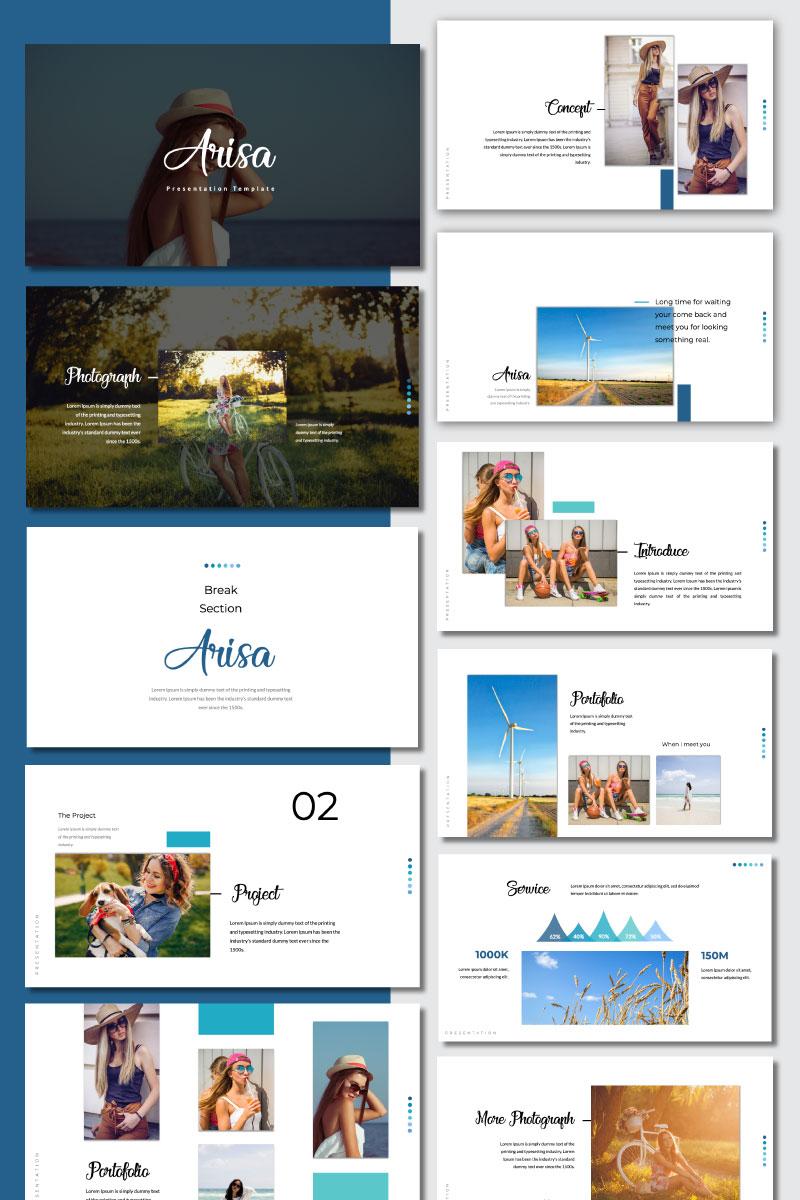 Arisa Presentation PowerPoint Template