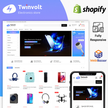 Template Electronice Shopify #86112