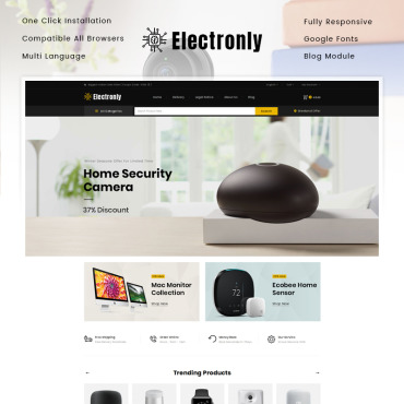 Website Template № 86120
