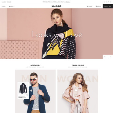 Template Modă WooCommerce #86122