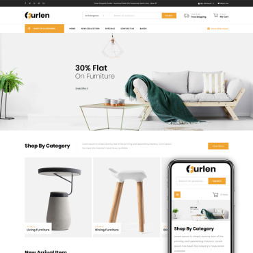 Website Template № 86158