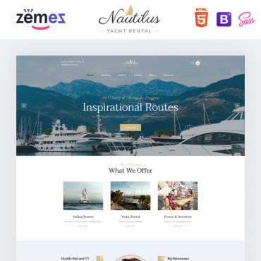 Website Template № 86220