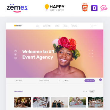 Website Template № 86221