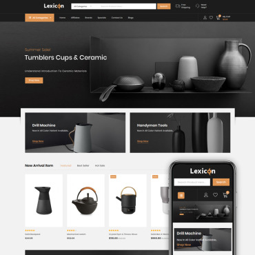 Website Template № 86223