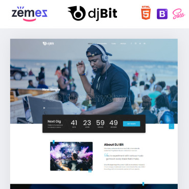 Website Template № 86384