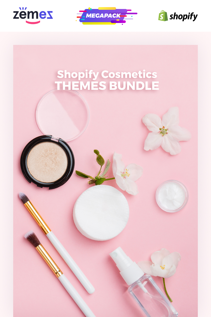 Cosmetics Themes Bundle - Shopify Theme