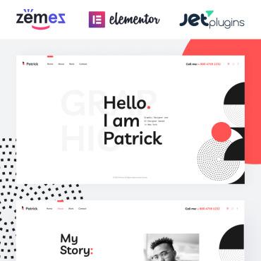 Template Web Design WordPress #86470